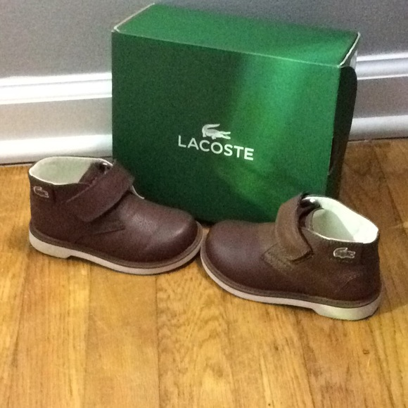 4a0c10544b6c Lacoste Other - Lacoste Toddler Boy Boots